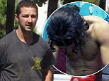 He's at it again! Nymphomaniac star Shia LaBeouf tweets nude picture of himself in new film Charlie Countryman