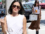 She's a beauty! Rachel Bilson nails the classic-chic look after a healthy Beverly Hills lunch jaunt