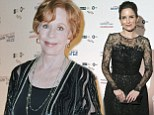 Passing the torch: Previous winner Tina Fey wows in lace to support Carol Burnett as she receives prestigious Mark Twain Prize