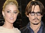 Tantrum totty: Amber Heard, seen with her boyfriend Johnny Depp, allegedly blew up on the set of thriller London fields over a group of onlookers