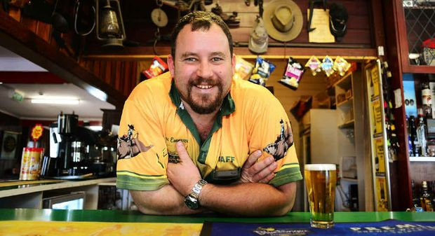 YOWIE YARNS: Mulgowie Hotel owner Simon Emmerson says his pub is home to anecdotes surrounding the Mulgowie Yowie.