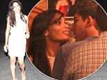 The look of love: Freida Pinto only has eyes for longtime boyfriend Dev Patel as pair celebrate her 29th birthday