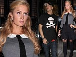 Paris Hilton is a sexy schoolgirl for date night with boyfriend
