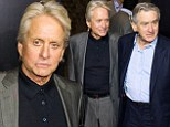 Michael Douglas is solo again at the Last Vegas premiere despite rumours of a reconciliation with Catherine Zeta-Jones