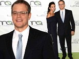 Matt Damon and his wife Luciana look more in love than ever at the Environmental Media Awards