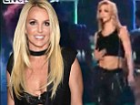 Remember this, Britney? Vintage clip of Spears' cringingly bad Vegas show goes viral as it emerges she's 'lip syncing in new residency'