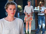 Doppelganger mother and daughter duo Ireland Baldwin and Kim Basinger step out together in Hollywood