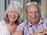 Lasting love: Jilly Cooper, pictured with publisher husband Leo Cooper on their Golden Wedding Anniversary, said women are too quick to put men down