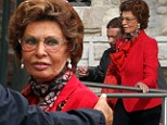 She's still ready for her close-up! Sophia Loren, 79, looks as glamorous as ever while exploring Venice on a water taxi