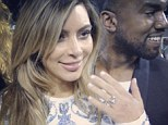 What a sparkler! Kanye West has proposed to girlfriend of 18 months Kim Kardashian, and in an Instagram snap the star can be seen holding her dazzling engagement ring towards the camera