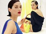 Marion Cotillard smoulders in the campaign for Lady Dior handbags by Christian Dior
