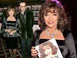 Joan Collins and Tom Ford