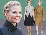 A fairy-tale life! Jennifer Morrison morphs into one stylish outfit after another as she promotes Once Upon A Time