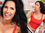 'Men don't want skinny girls': Top Chef star Padma Lakshmi on her love of food and why she won't starve herself to look good