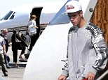 Justin Bieber's luggage searched for contraband AGAIN with singer delaying flight out of Puerto Rico for one hour