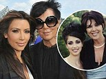 It's not difficult to guess her favourite! Kris Jenner posts gushing birthday message as daughter Kim Kardashian turns 33