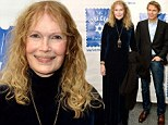 Mia Farrow takes her son Ronan to high society benefit... after revealing his father is 'possibly' Frank Sinatra and not Woody Allen