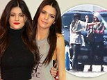 Going to a party? Kendall Jenner embraces sister Kylie at private airport on Kim Kardashian's birthday