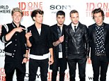 Niall Horan, Louis Tomlinson, Zayn Malik, Liam Payne and Harry Styles of One Direction top the young rich list