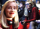 Red hot recognition! Sharon Stone mingles with global leaders at World Summit of Nobel Peace Laureates to collect prestigious award