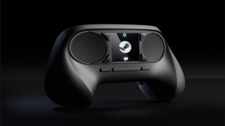 The Steam Controller in action