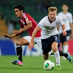 James Ward-Prowse battles with Saleh Gomaa