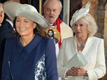 It's the battle of the grannies! Camilla goes head to head with Carole Middleton for the title of best-dressed grandmother