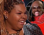 Super battle: Olivia Henken and Stephanie Ann Johnson battled it out on Tuesday night's episode of The Voice with Cee Lo Green stealing Stephanie Anne