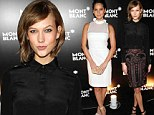 Olivia Munn misfires in a white summery dress while Karlie Kloss shows how to dress for autumn in an embellished skirt
