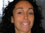 Blurred vision: Heidi Fleiss smiled in her mug shot taken after her arrest om Tuesday for driving under the influence of marijuana among other charges