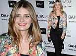 Mischa Barton looks happy and healthy as she makes first red carpet appearance after opening up about her 'full-on breakdown'