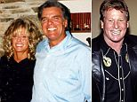 Ryan Lott (left) claims that he and Farrah Fawcett had a relationship for the last 11 years of her life even though she was seen with Ryan O'Neal (right)
