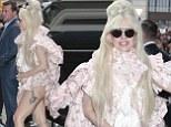 Lady Gaga arrives at Hotel Ritz Carlton Berlin, Germany