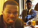 Coming up a few pennies short! Video emerges of 50 Cent's cringeworthy audition to play Denzel Washington's cousin in American Gangster