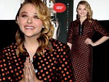 Spot on! Chloe Moretz is radiant in polka dots while promoting Carrie in Japan as she puts movie's disappointing US box office behind her