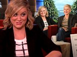 'No food, just juice!' Amy Poehler jokes with Ellen DeGeneres about her preparations to host the Golden Globes