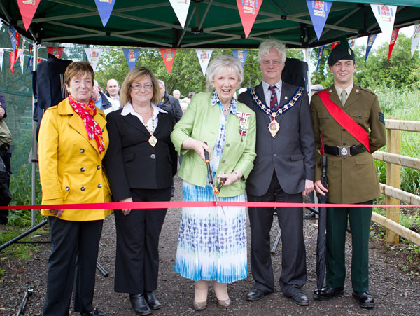 opening of whitehead diamond jubilee wood