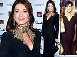 Style snap! Lisa Vanderpump wears same $7000 Alexander McQueen dress Kris Jenner wore to celebrate Kim's engagement