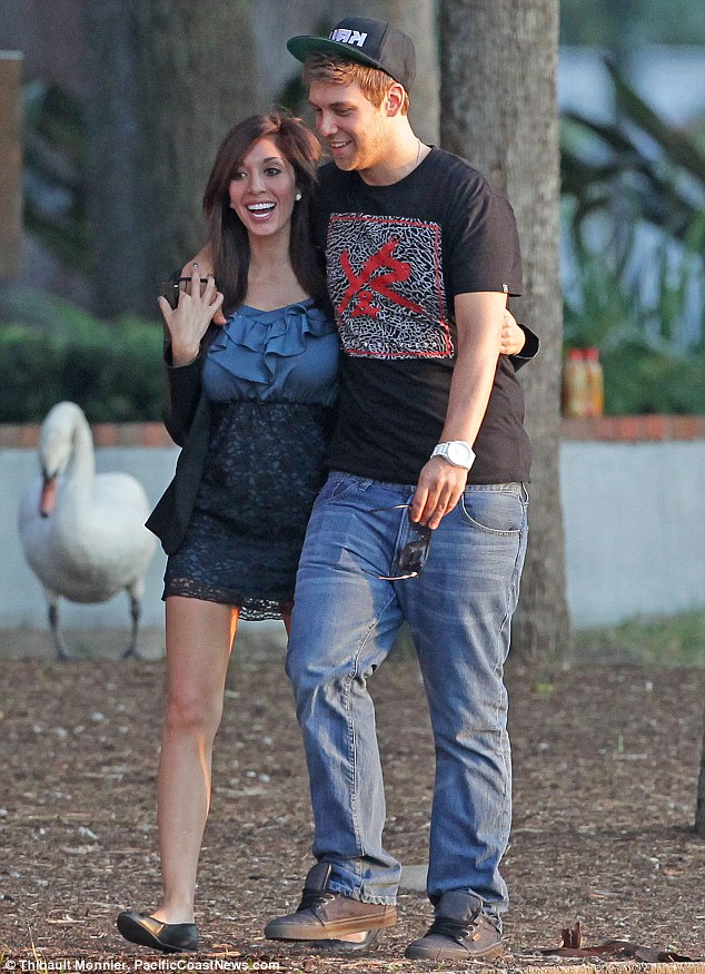 Like the lips, boyfriend? Farrah Abraham went public on Friday with her new squeeze DJ Brian Dawes