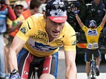 Ben Foster is a spitting image of Lance Armstrong as he hits the Tour de France trail to film the biopic on the disgraced athlete