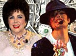 High earners: Michael Jackson earned the most last year Elizabeth Taylor still making cash from her perfume White Diamonds and smart real estate investments in fourth place