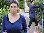 Nothing left to lose! Jamie-Lynn Sigler reveals slim figure as she pounds the pavement just two months after giving birth