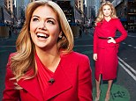 'He's really nice!' Red hot Kate Upton confirms she's dating dancer Maksim Chmerkovskiy in Good Day NY interview
