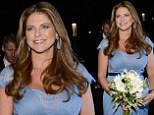 A royal bargain! Four-months-pregnant Princess Madeleine attends black tie gala in $367 gown