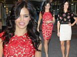 Jenna Dewan-Tatum shows off incredible post-pregnancy figure in two different outfits... but admits Spanx is her secret weapon