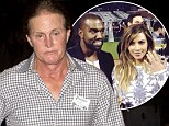 Bruce Jenner 'not invited' to Kanye West's proposal to Kim... and 'didn't even know' rapper was popping the question