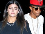 Dinner with a (Lil) Twist! Kylie Jenner, 16, fuels romance rumours as she emerges from restaurant with rapper in tow