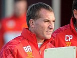 Hitting back: Brendan Rodgers was disappointed with some of the comments in Sir Alex Ferguson's book
