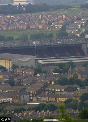City of Burnley in Northern England