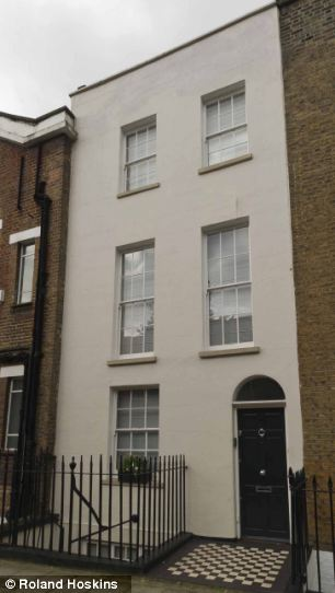 On the market: The Central London property has an asking price of £2.35million